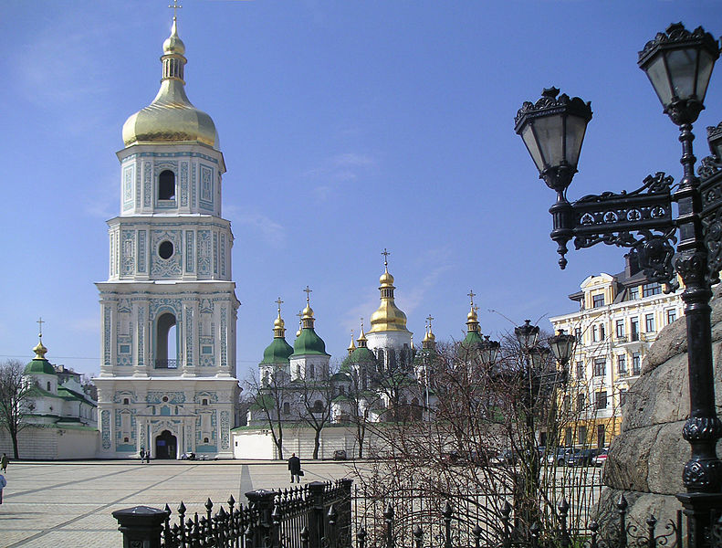 St. Sophia Cathedral and St. Michael Cathedral.